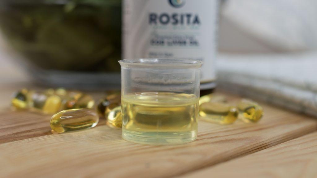 Rosita студено пресовано екстра върджин рибено масло