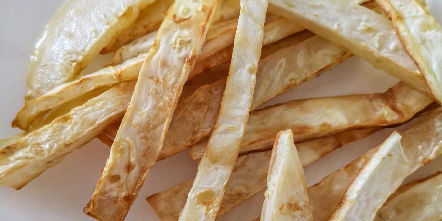 кето пържени картофи