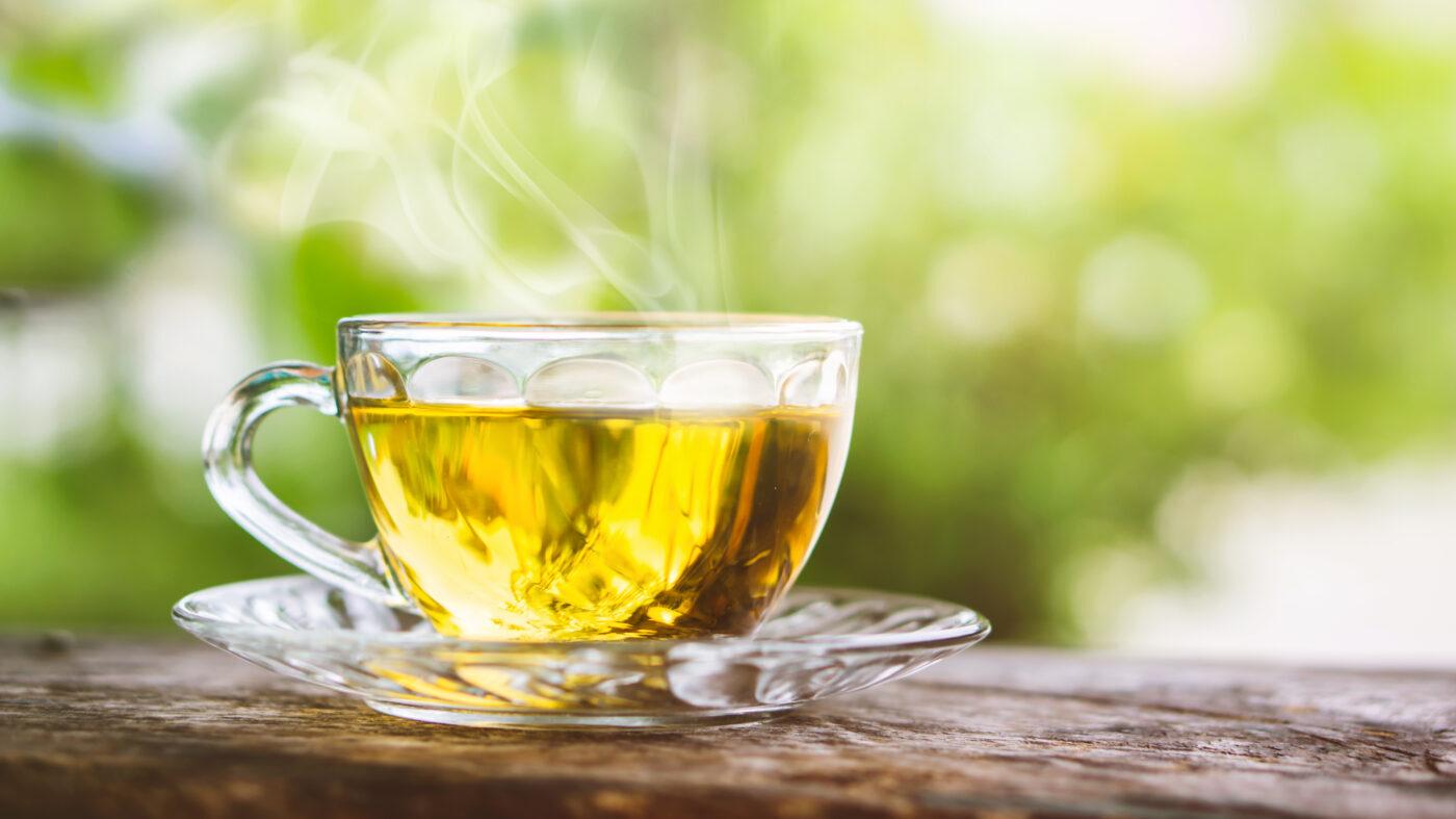 зелен чай акне
